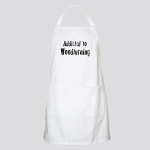 Addicted to Woodturning BBQ Apron