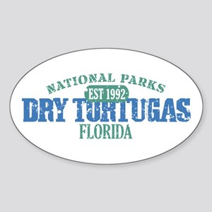 Dry Tortugas National Park FL Sticker (Oval)
