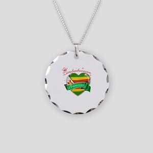 Zimbabwean Princess Necklace Circle Charm