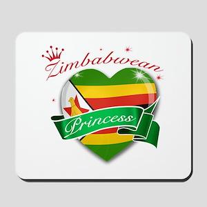Zimbabwean Princess Mousepad