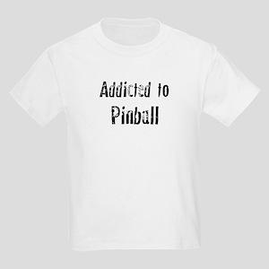 Addicted to Pinball Kids T-Shirt