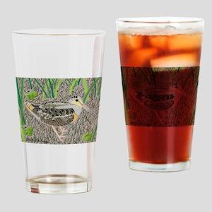 Woodcock Drinking Glass