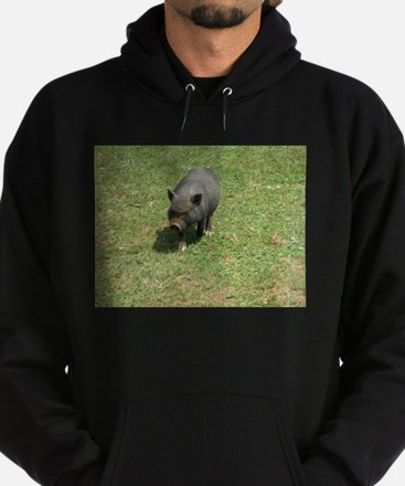 Pot Bellied Pig Hoodie (dark)