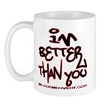 I'm Better 2 Mug