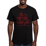 I'm Better 2 Men's Fitted T-Shirt (dark)