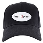 Learn2Play Black Cap