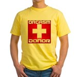 Donor Yellow T-Shirt