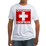 Donor Fitted T-Shirt