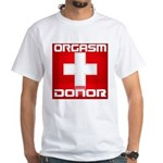 Donor White T-Shirt