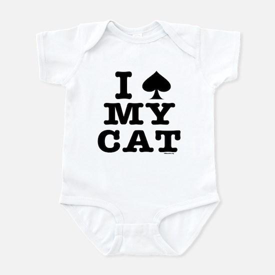 I Spade My Cat Infant Bodysuit