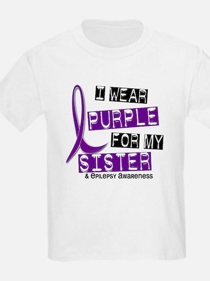 I Wear Purple 37 Epilepsy T-Shirt