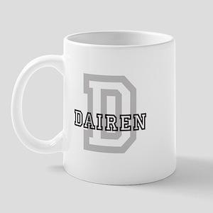 Letter D: Dairen Mug