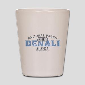 Denali National Park Alaska Shot Glass