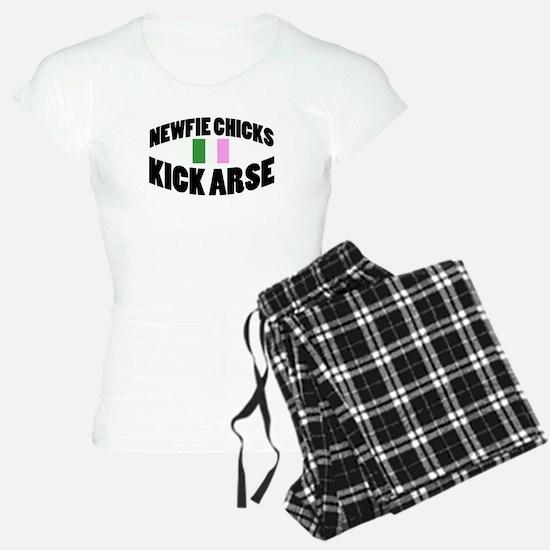 Newfie Chicks Kick Arse Pajamas