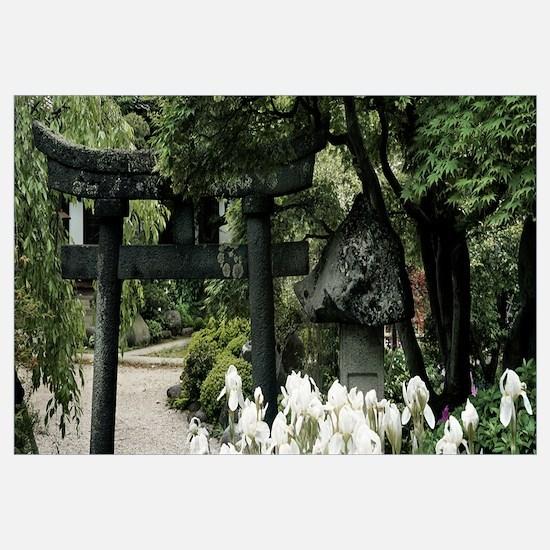 Trees in a garden, Kozen-Ji, Yamagata Prefecture,