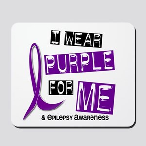 I Wear Purple 37 Epilepsy Mousepad