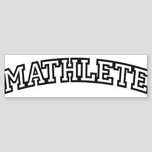 MATHLETE Sticker (Bumper)