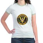 Border Patrol, Citizen - Jr. Ringer T-Shirt