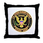 Border Patrol, Citizen -  Throw Pillow