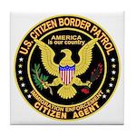 Border Patrol, Citizen - Tile Coaster