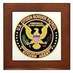 Border Patrol, Citizen - Framed Tile