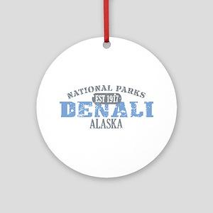 Denali National Park Alaska Ornament (Round)