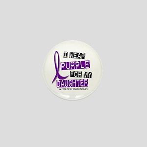 I Wear Purple 37 Epilepsy Mini Button