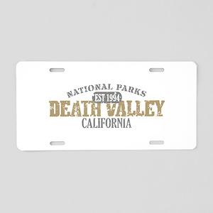 Death Valley National Park CA Aluminum License Pla