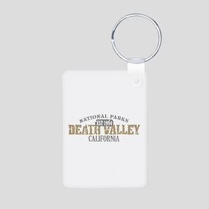Death Valley National Park CA Aluminum Photo Keych