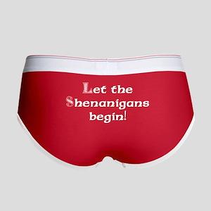 Let the Shenanigans Begin! Women's Boy Brief