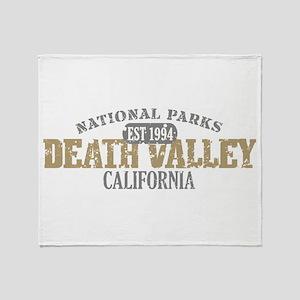 Death Valley National Park CA Throw Blanket