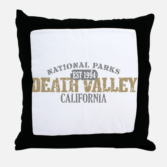 Death Valley National Park CA Throw Pillow