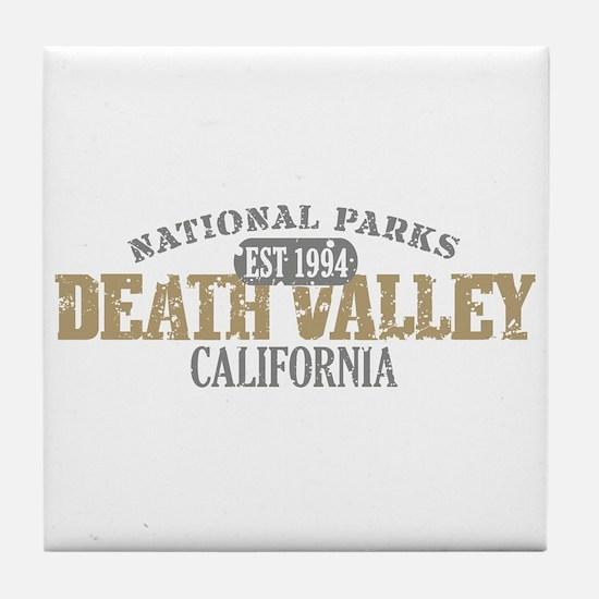 Death Valley National Park CA Tile Coaster