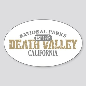 Death Valley National Park CA Sticker (Oval)