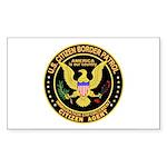 Border Patrol, Citizen - Rectangle Sticker