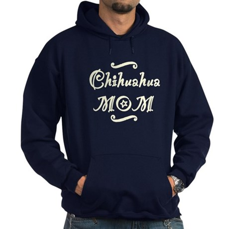 Chihuahua MOM Hoodie (dark)