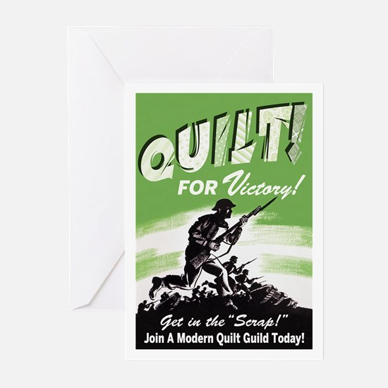 Quilt For Victory! Greeting Cards (Pk of 10)
