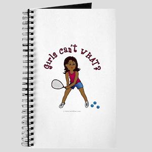 Racquetball Girl (Dark) Journal