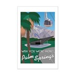 Wish You Were Here: Palm Springs Mini Poster Print