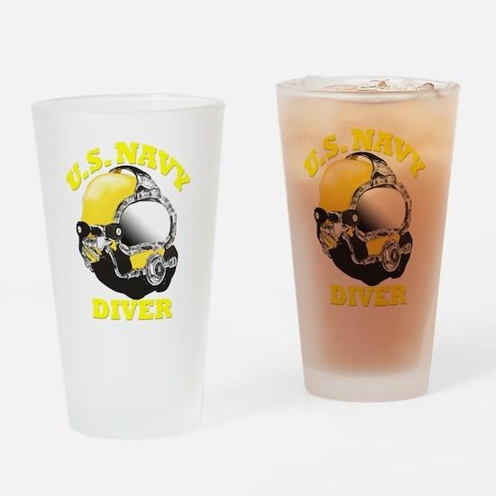 MK21 NAVY DIVER Drinking Glass