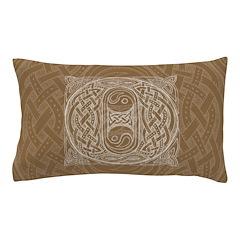 Celtic Letter O Pillow Case
