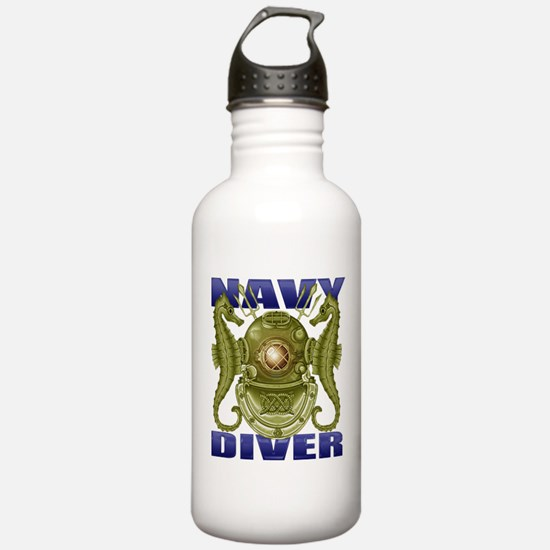 NAVY MASTER DIVER Water Bottle