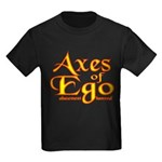 Axes logo 3 Kids Dark T-Shirt