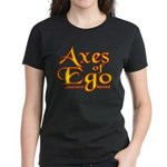 Axes logo 3 Women's Dark T-Shirt