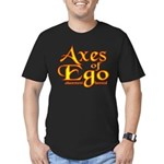 Axes logo 3 Men's Fitted T-Shirt (dark)