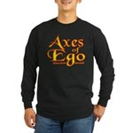 Axes logo 3 Long Sleeve Dark T-Shirt