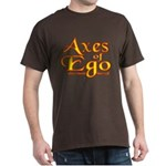 Axes logo 3 Dark T-Shirt