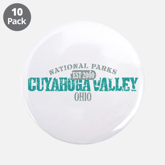 """Cuyahoga Valley National Park 3.5"""" Button (10 pack"""