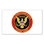 Border Patrol, US Citizen - Rectangle Sticker