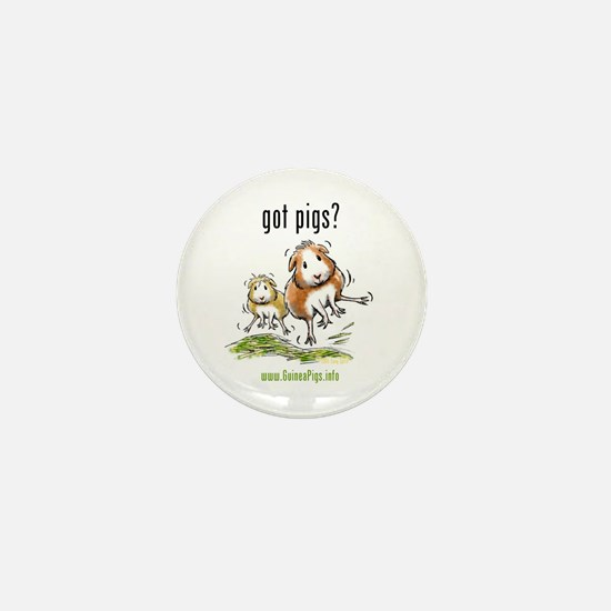 Cute Guinea pigs Mini Button